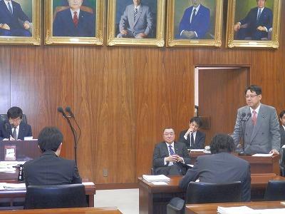 予算委員会の第七分科会で答弁