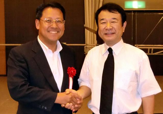 青山繁晴さんとお会いしました。
